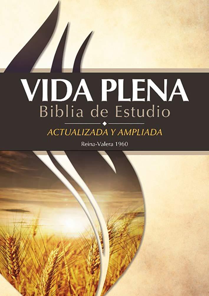 Biblia Vida Plena RVR60 Actualizada y Ampliada Tapa Dura