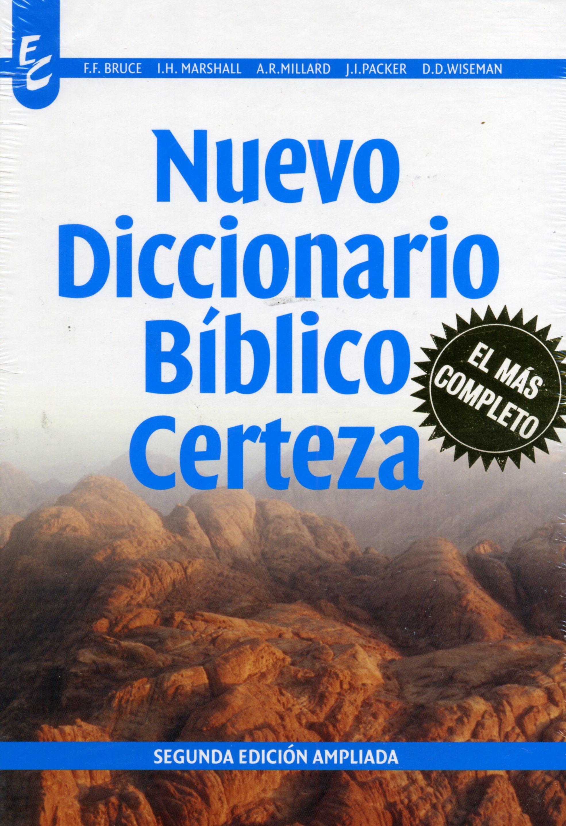 Nuevo Diccionario Bíblico Certeza (9789506831042): Varios